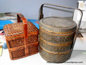 image of rattan baskets